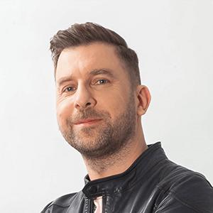 Pawel Wiszniewski - prezenter, szef muzyczny radia SuperNova
