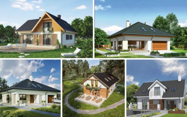5 projektów domów z funkcjonalnym poddaszem użytkowym
